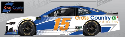 Cross Country Adjusting to Sponsor the #15 NASCAR Cup Series Race Team