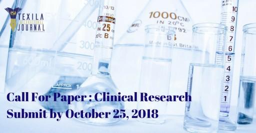 Texila International Journal, Clinical Research