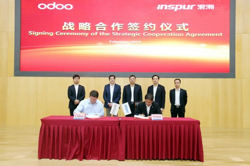 Odoo Establishes a Joint Venture With Inspur to Anchor Its Presence on the Chinese Market