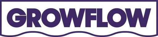 GrowFlow Logo - inverted