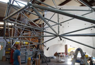 Steel space frame manufacturing