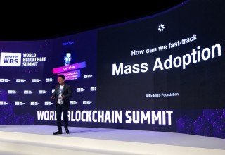 Alfa Enzo on the Blockchain Summit