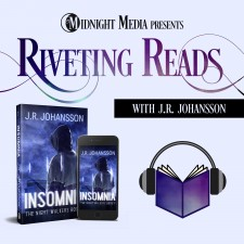 J.R. Johansson Launches New Podcast and Re-Releases Best-Selling Book 'Insomnia'