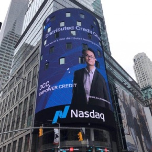 DCC Debuts on Nasdaq Tower in Times Square