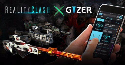 Gizer and Reality Gaming Group Team Up to Bring Tournament Play to Reality Clash