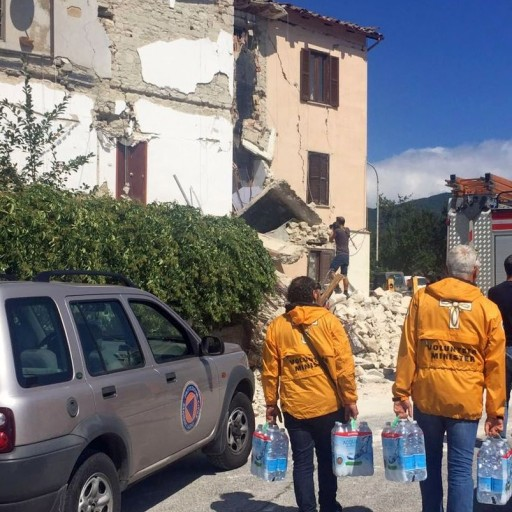 Volunteer Ministers Rush to the Aide of Earthquake Victims