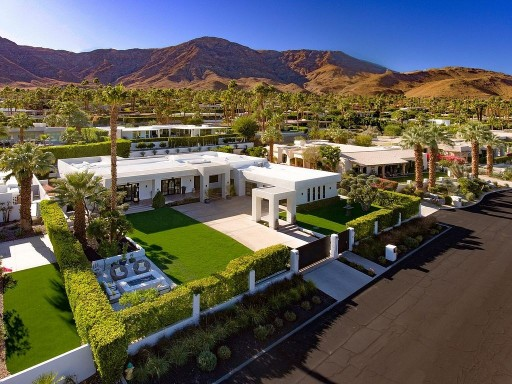 Hollywood Glamour With Contemporary Flair in Rancho Mirage, California