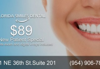 Also, Special for New Patients: Get full mouth x-rays and a full mouth examination for $89!