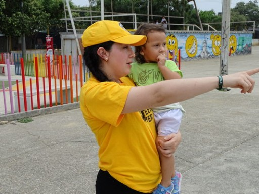 A Bright Yellow Tent on the Venezuela Border Brings Hope