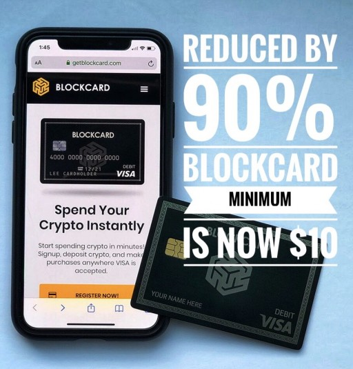 Ternio Cuts Minimum Balance Requirements on BlockCard by 90%