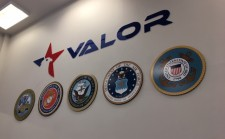 VALOR Logo and Military Seals