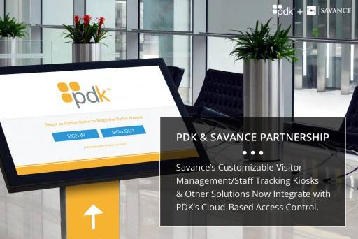 PDK and Savance Announce Partnership, Integrating Solutions for Access Control & Business Automation