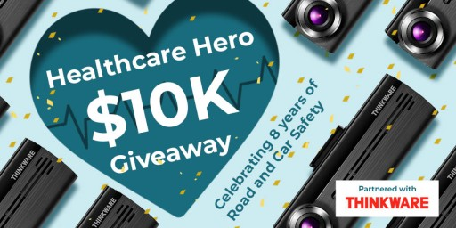 BlackboxMyCar Announces Healthcare Hero $10K Giveaway for 8th-Anniversary Celebration