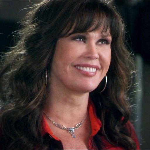 Marie Osmond Seen Wearing Metals & Pieces' 'Wings of Fire Necklace' on Lifetime's 'The Road Home for Christmas'