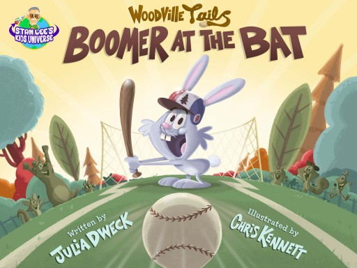 Stan Lee's Kids Universe Announces the Release of Their Newest Children's Book, Boomer at the Bat, on June 14th