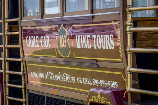 San Francisco Cable Cars Head to the Texas Hill Country Vineyards