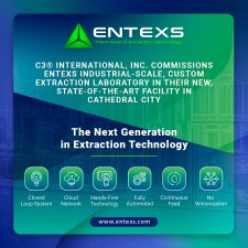 C3® International, Inc. Commissions Industrial-Scale, Custom Extraction Laboratory From ENTEXS Corporation