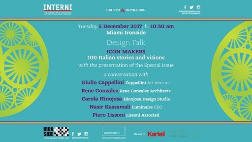 Interni Icon Makers Design Talk at Ironside