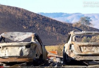 California Wildfire Damage