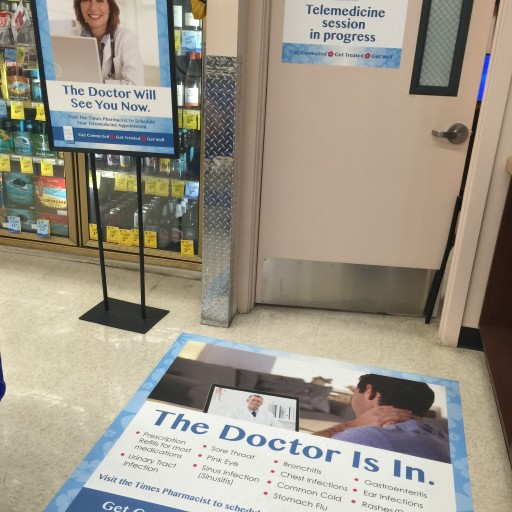 The Doctor Will See You Now at Times Market Pharmacy