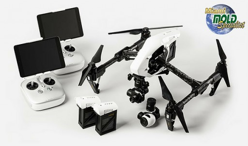 Miami Mold Specialists Acquires Aerial Drone Infrared Technology