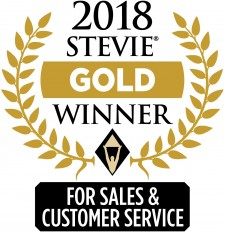 Stevie 2018 Gold Winner
