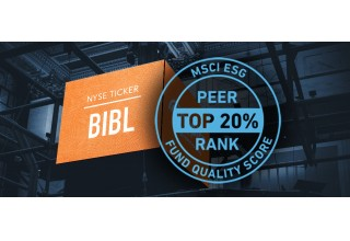 Inspire 100 ETF (NYSE: BIBL) Receives MSCI ESG Quality Score in the top 20%