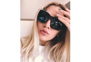 Tina Leung wears Alphabet Sunglasses