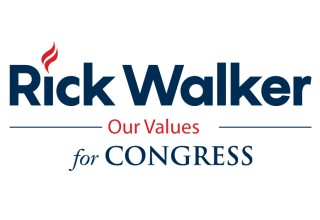 Rick Walker for Congress Logo