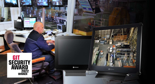 AG Neovo SX-Series Security Monitor Named the GIT SECURITY AWARD 2022 Winner for Video Security Systems