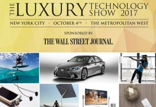 Luxury Technology Show Banner and Collage