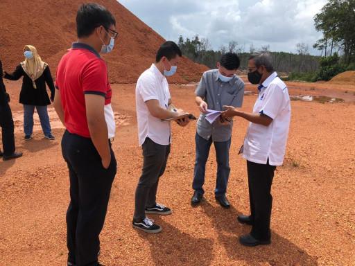 Federal Government Visits Looi Kam Yong's Proposed Mining Project Land in Pengerang, Kota Tinggi, Johor Darul Takzim