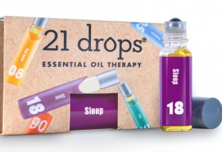 21 Drops Aromatherapy Massage essential oil therapy