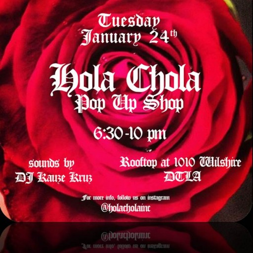 TENTEN Wilshire: Pop Up to the Rooftop for Hola Chola Fashion