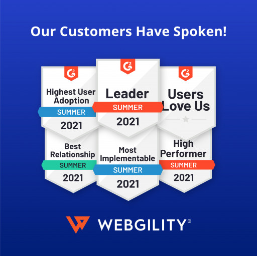 Webgility Wins 21 Categories in G2 Summer Awards