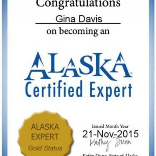 Gold Certified Expert by the State of Alaska