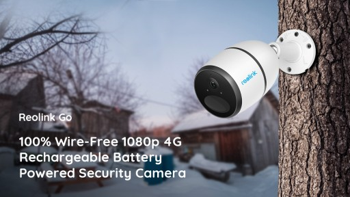 Reolink Go Wire-Free 4G LTE Security Camera Today Sweeps Worldwide