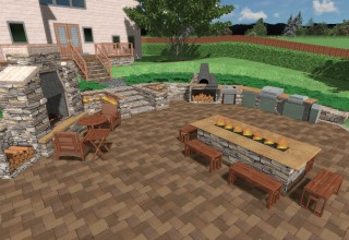 Potential Iso-outdoor Kitchen