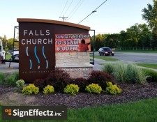 Falls Church LED Sign