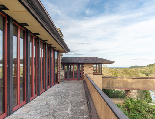 UNESCO World Heritage Plaque Unveils Today at Frank Lloyd Wright's Taliesin