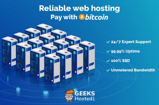 Web Hosting Company GeeksHosted.com Experiences Post Data Center Business Boom, Now Accepts Bitcoin