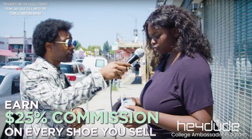 Hey Dude Shoes Launches College Ambassador Program, With Focus on Loan Debt Crisis