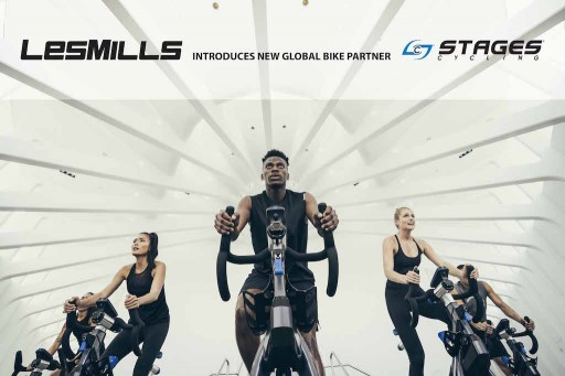 Stages® Indoor Cycling is Announced as Les Mills New Global Bike Partner
