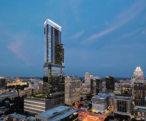 Kairoi Residential, Lincoln Property Company, and DivcoWest Have Closed Financing on the 66-Story Iconic, Mixed-Use, High-Rise Tower in Austin