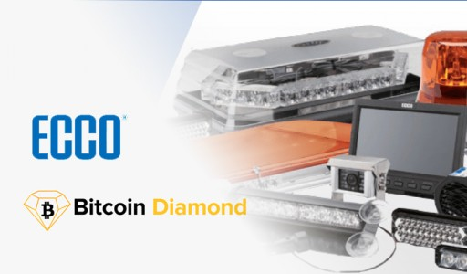 ECCO Warning Lights to Accept Crypto Payments Including Bitcoin Diamond (BCD)