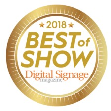 Mvix Wins 2018 InfoComm Best of Show Award - Digital Signage for the 2nd Year Running