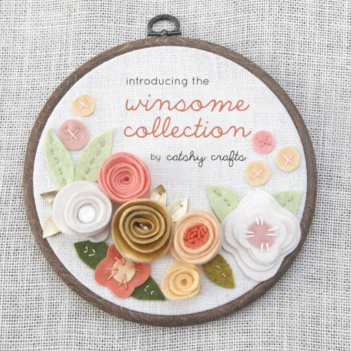 Catshy Crafts Launches Spring Collection of Wall Art Combining Nostalgia of Hand Embroidery With Felt Florals