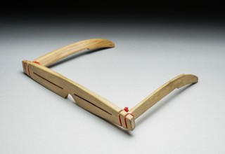 WOOD SNOW GOGGLES