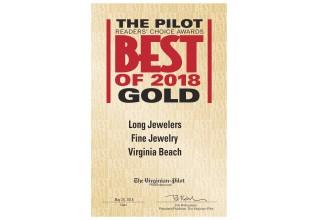 The Virginia Pilot's Best of 2018 Award: Best of FIne Jewelry