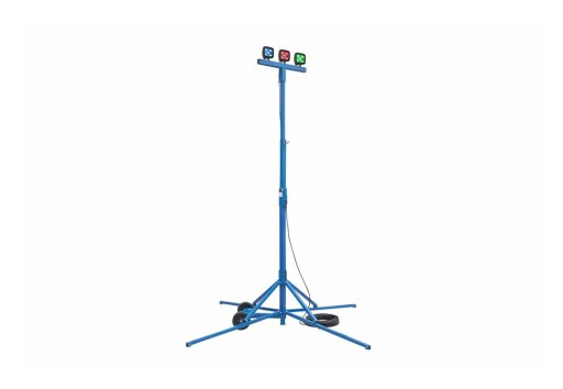 Larson Electronics LLC Releases Colored 75W LED Work Area Quadpod Light